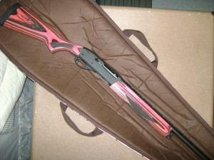 Pink guns.