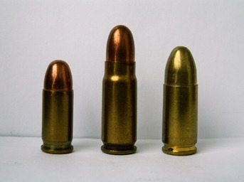 7.65 mm Browning (aka .32 ACP), 7.62mm Tokarev, 9mm Luger (aka 9mm NATO)