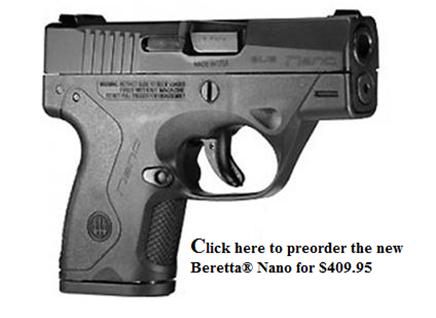 New Beretta Nano.