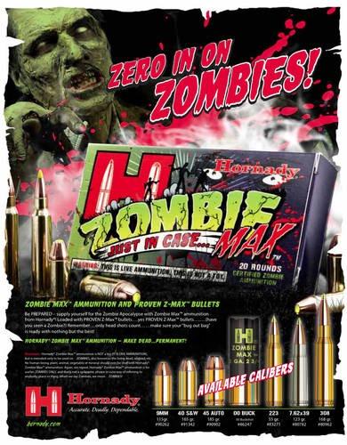 NEW! Hornady Zombie Max AMMO  (Z-Max)