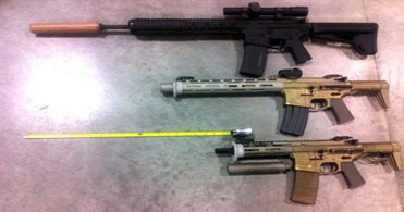 HB Compare 600x419 thumb AAC .300 BLK Honey Badger PDW