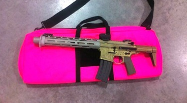 HB Pink 600x325 thumb AAC .300 BLK Honey Badger PDW