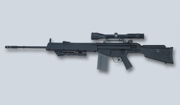 Name that gun 12-19 Heckler-Koch MSG90A1