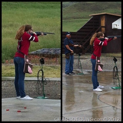 Interview with a beginner female trap shooter