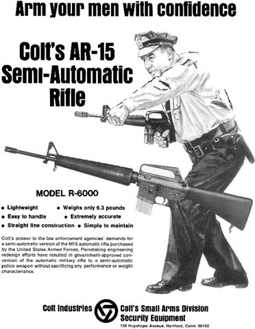Colt-AR-15-Rifle-Advertisement-Law-Enforcement