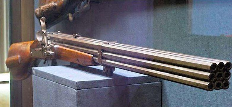 The Hammer: Strange looking guns