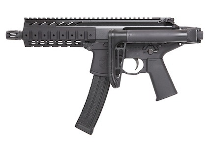 Sig Sauer's New Submachine Gun