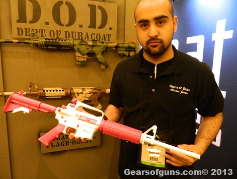 Pink guns from SHOT 2013