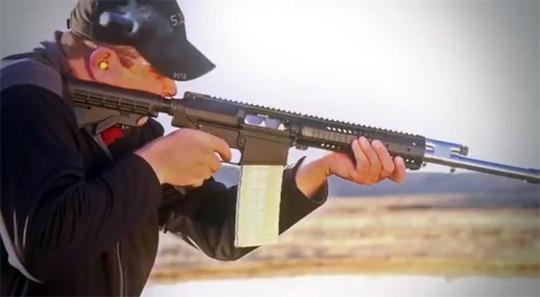 12 Gauge AR-10 style Shotgun?