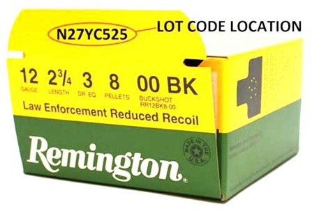 Remington-LERR Ammo-Recall