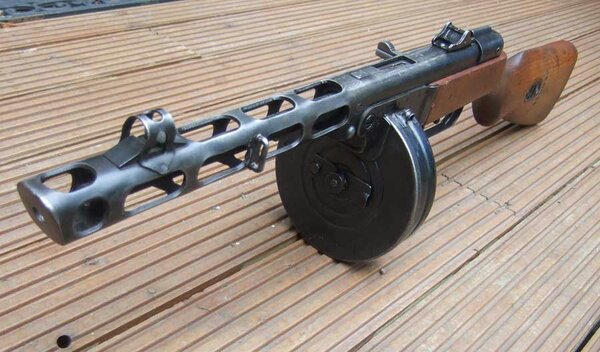 Aaron- Russian PPSH- Gun Of The Day