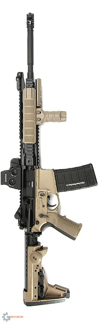 Aaron  ADDAX Piston 16 AR 15  Gun Of The Day
