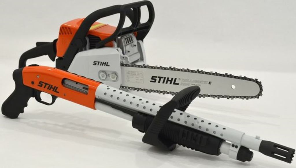8874856d9da27b39693684a33c727ba6 thumb Gun of The Day – MOSSBERG/STIHL CHAIN SAW