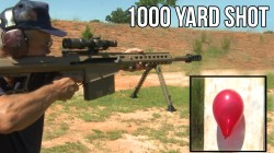 Video: Jerry Miculek shooting 1000 yards with a Barrett .50BMG in 2 seconds