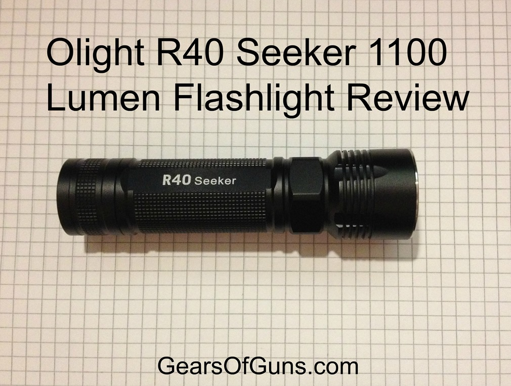 Olight R40 Seeker 1100 Lumen Flashlight Review