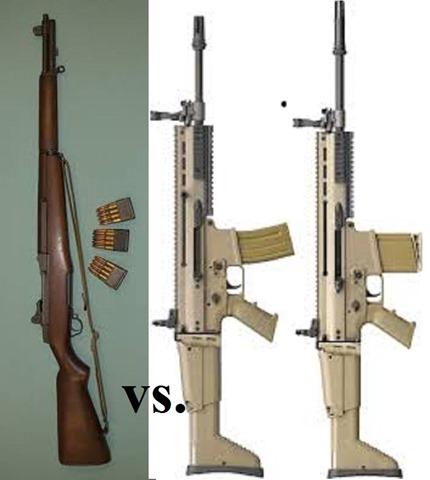 M1 vs SCAR