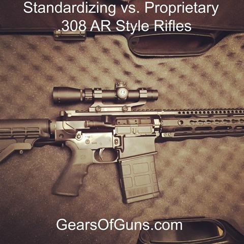 standard vs proprietary