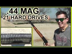 Taofledermaus: Bullets vs. a LOT of Hard Drives