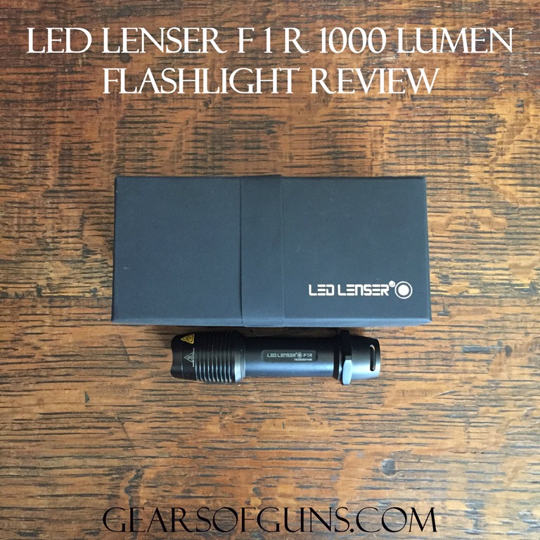 Led Lenser F1R 1000 Lumen Flashlight Review
