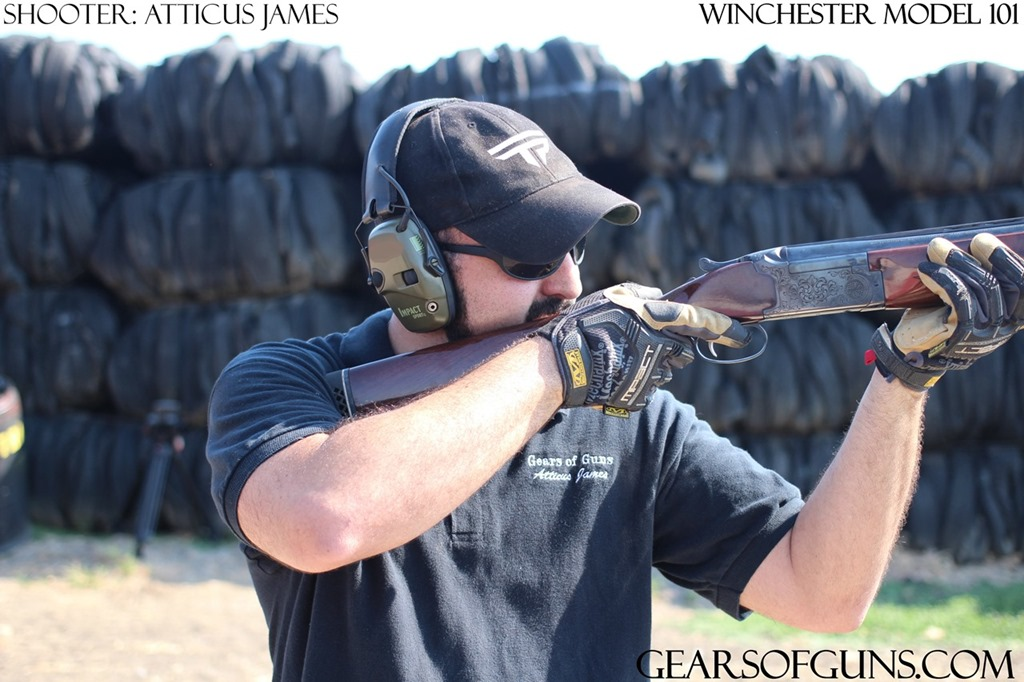 Atticus Shooting the Winchester M101