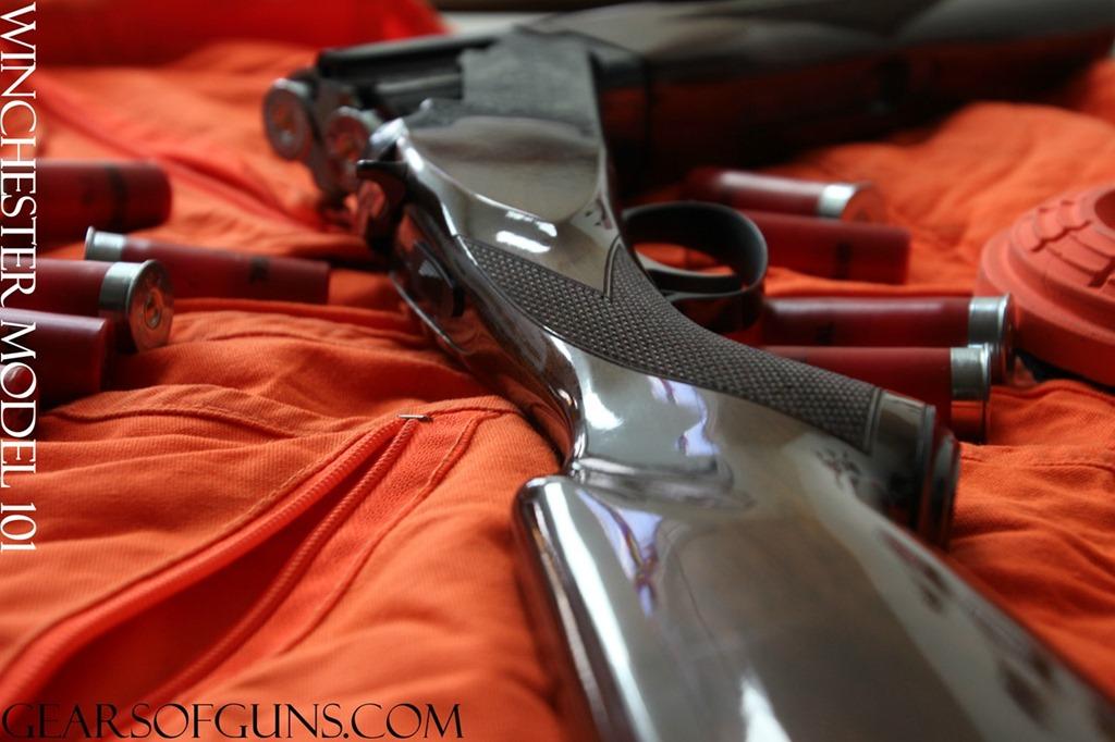 Winchester Model 101 Buttstock