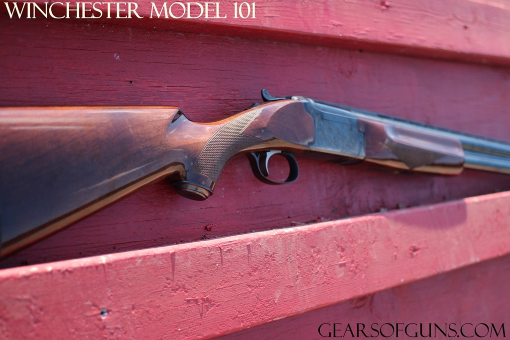 Winchester Model 101 Red Background