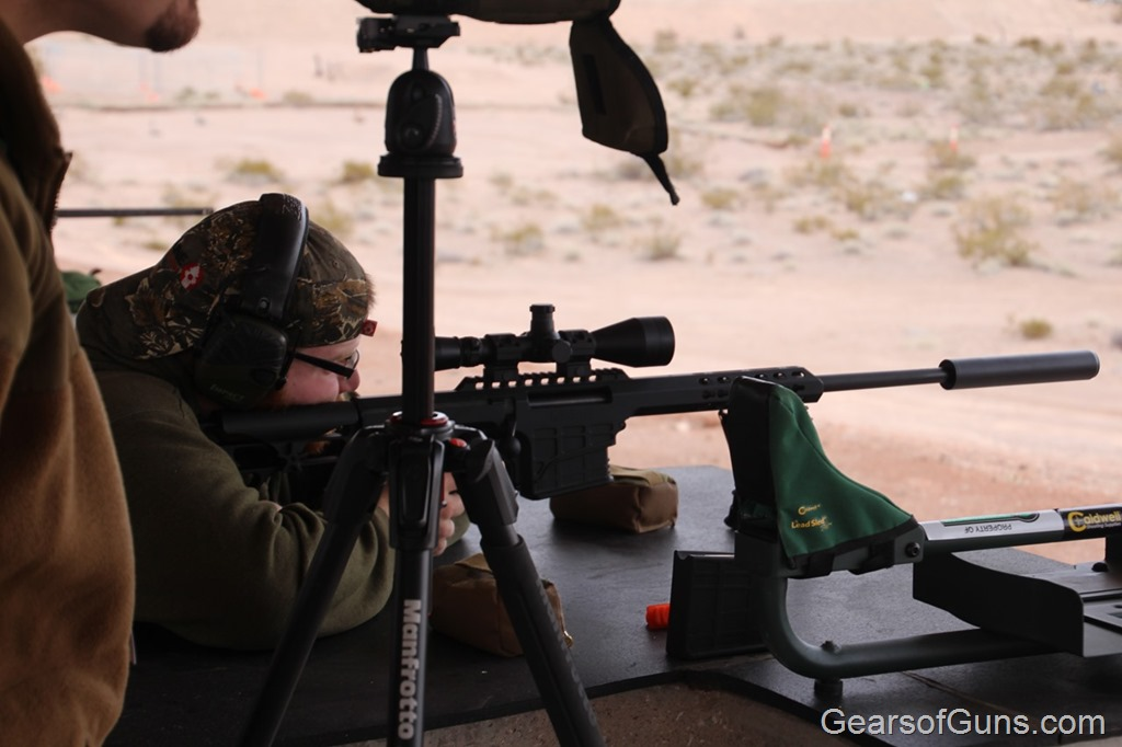 Clayton Shooting Barrett M RAD