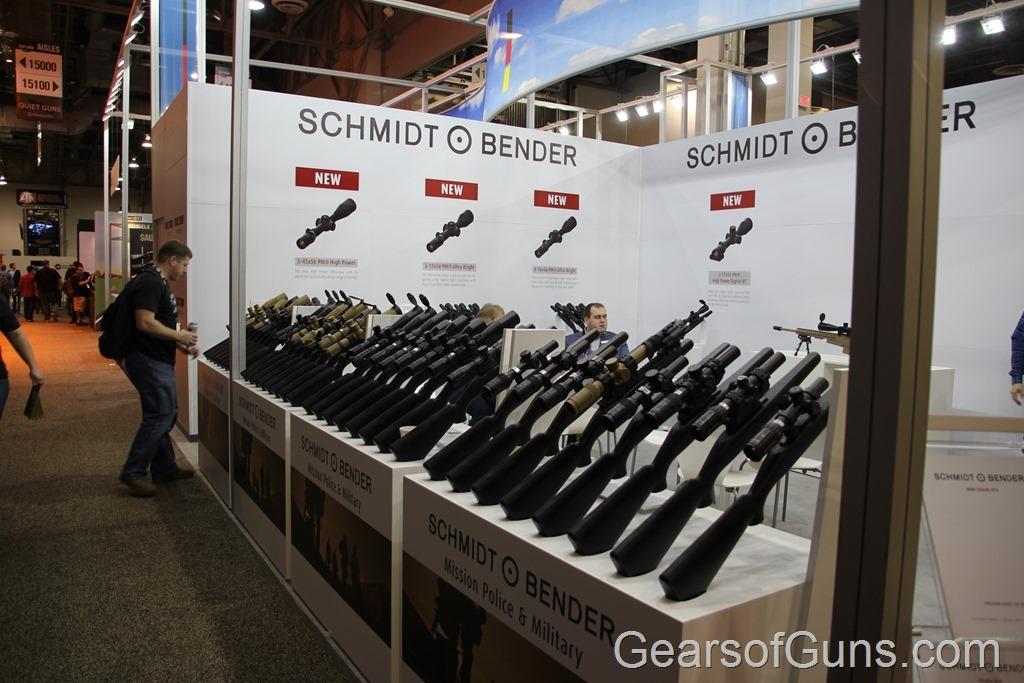 Schmidt Bender Scopes