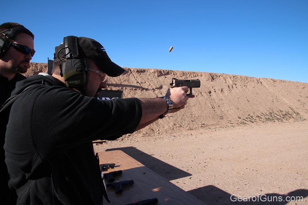 Sprinx duty pistol
