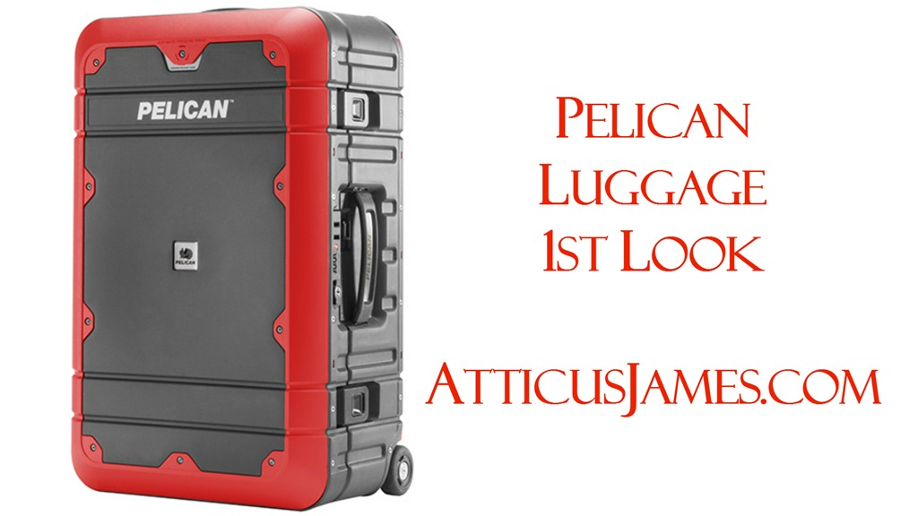 Pelican Luggage First Look