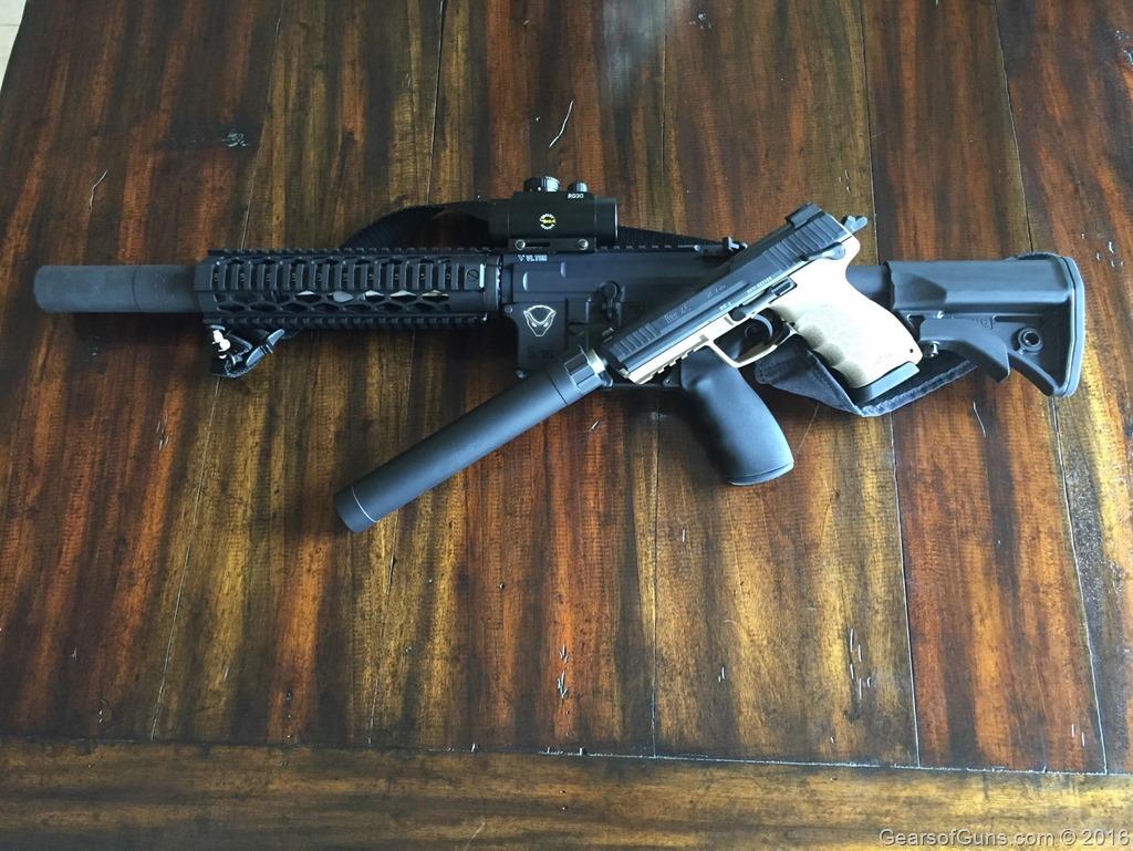 H&K .45 Tactical .300blk SBR | Gearsofguns