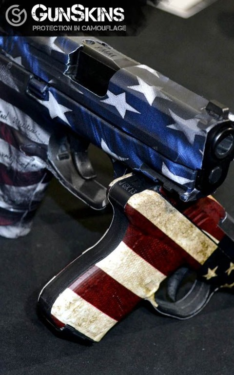 Stars and Stripes Pistols by Gun Skins