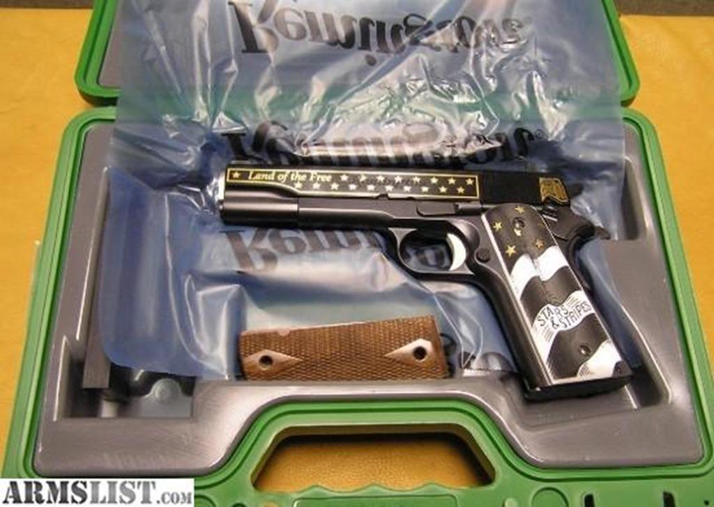 Remington 1911 45 Stars and Stripes