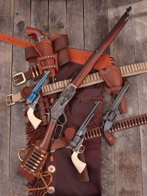 Classic Lever Action and Revolvers