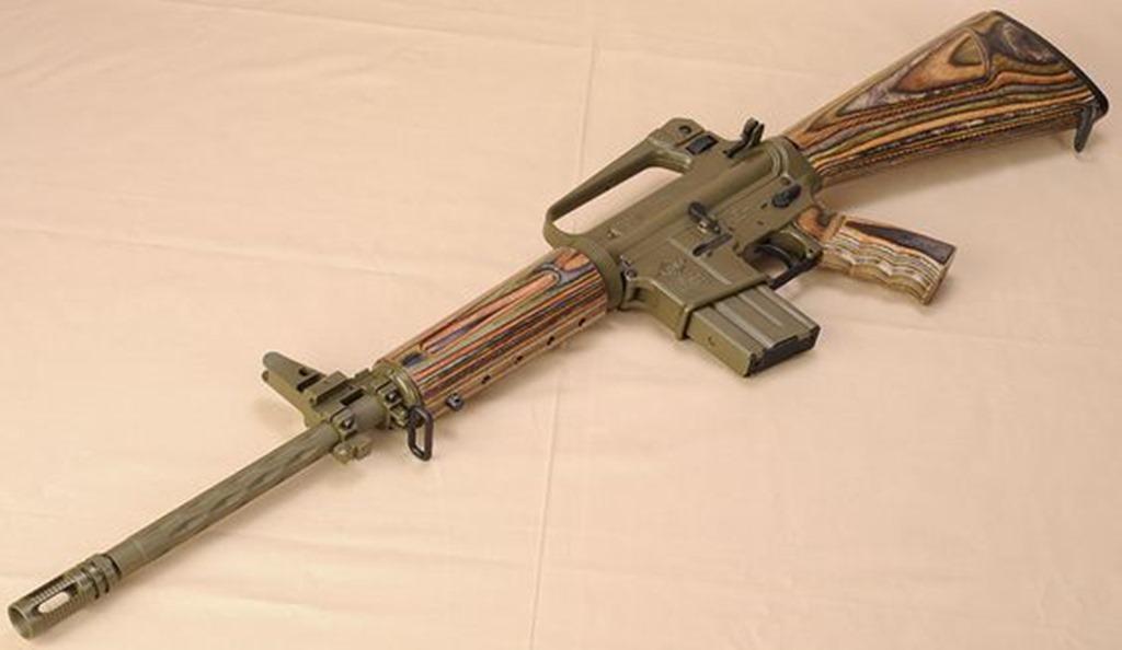 Laminated AR 15