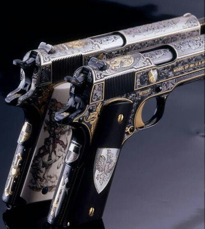 Incredibly detailed 1911s
