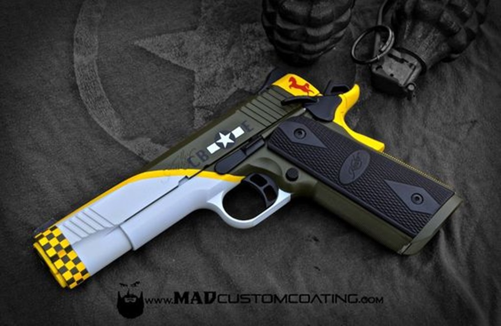 Mad Customs Coating Kimber 1911