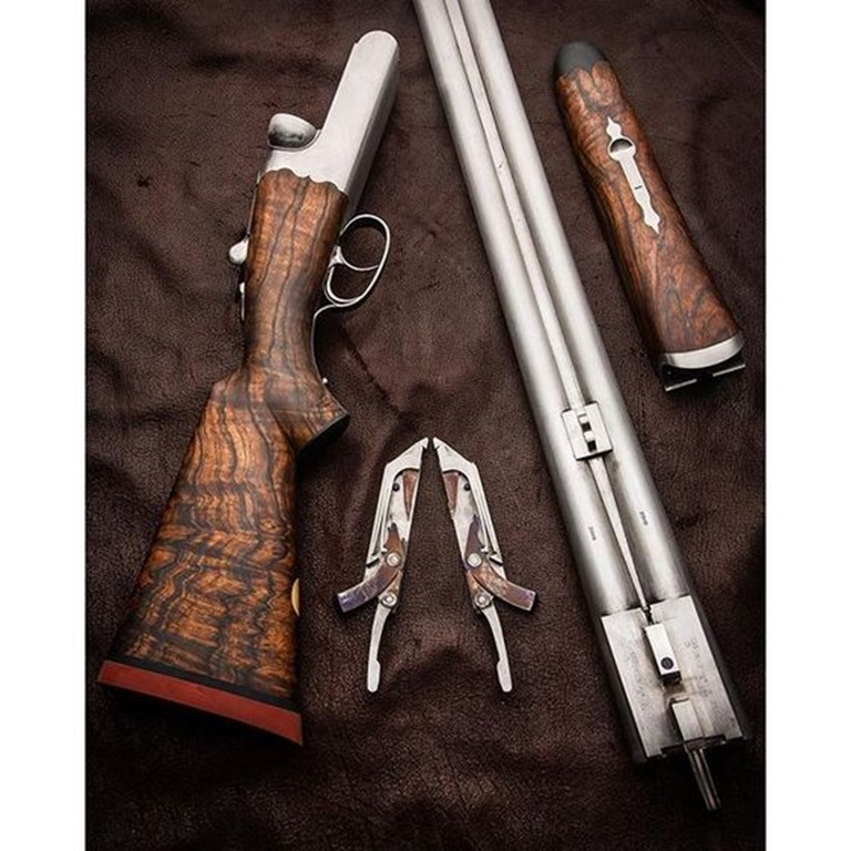 Beautiful Side by Side Shotgun