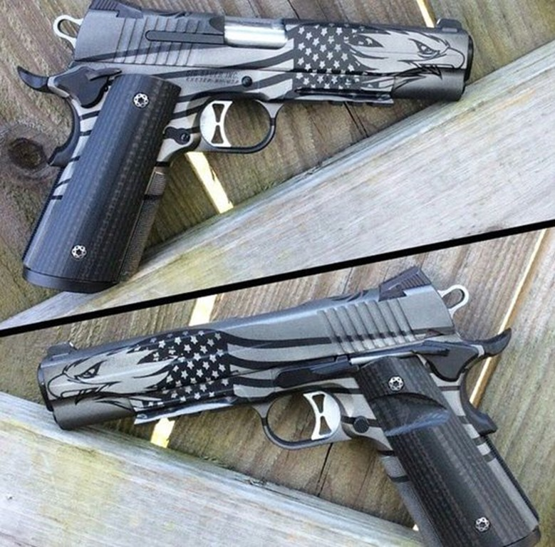 Eagle Cerakoted 1911