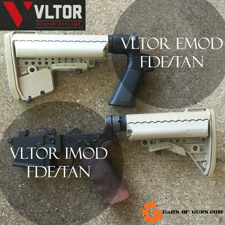 Vltor EMOD and IMOD Stocks in Tan