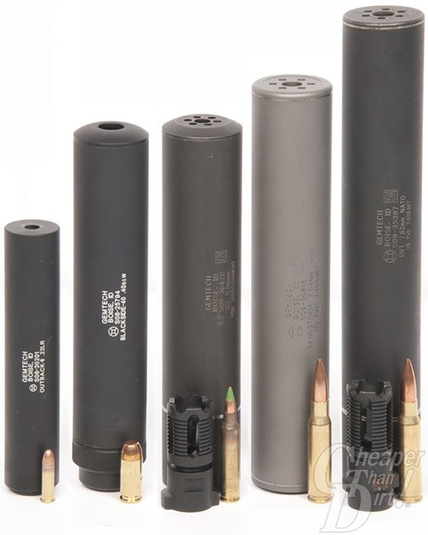 GemTech Suppressors
