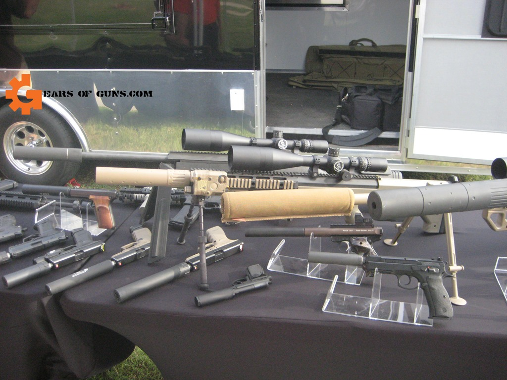 Big Bore Suppressors