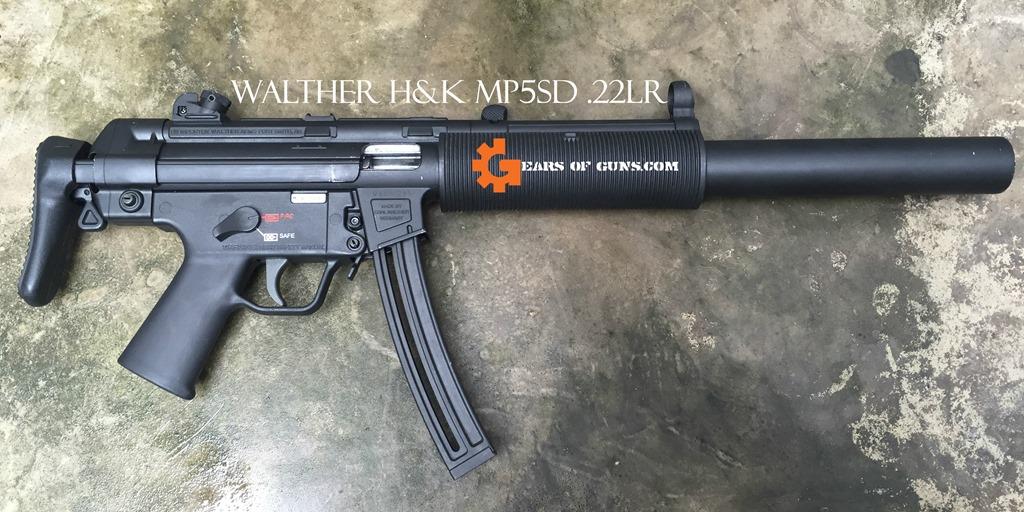 H&K MP5SD 22lr