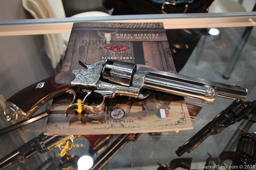GearsofGuns F.lli Pietta Engraved Revolver