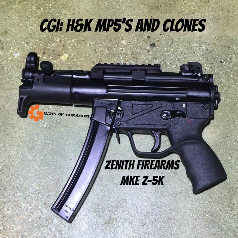 Zenith Z5K pistol