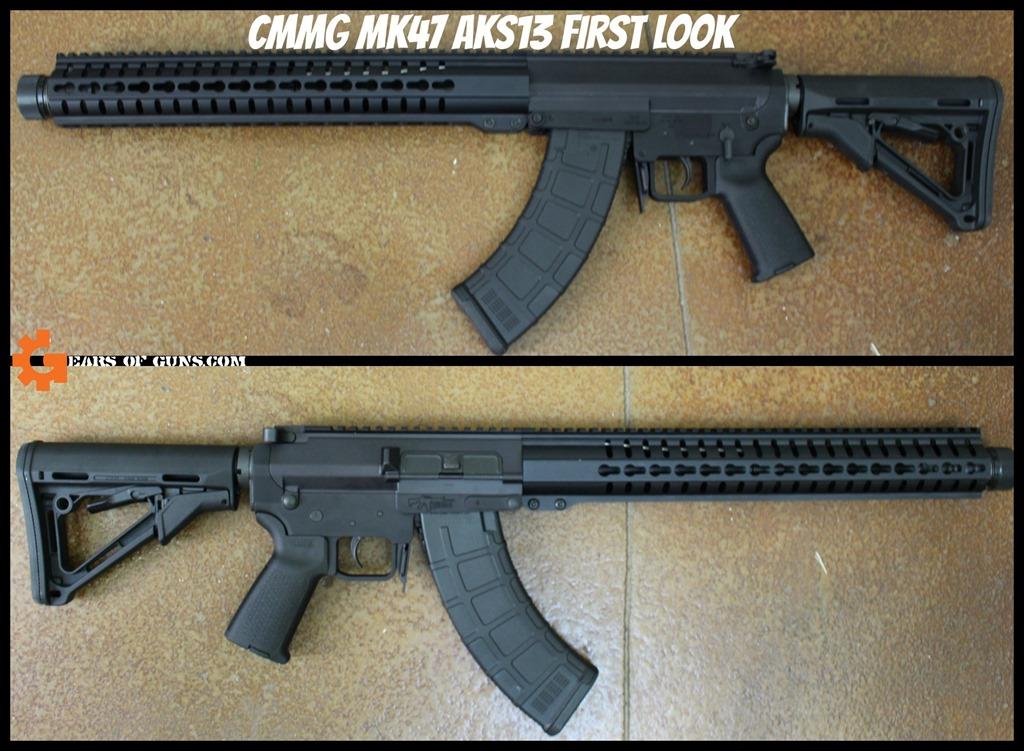 Cmmg MK47 AKS13