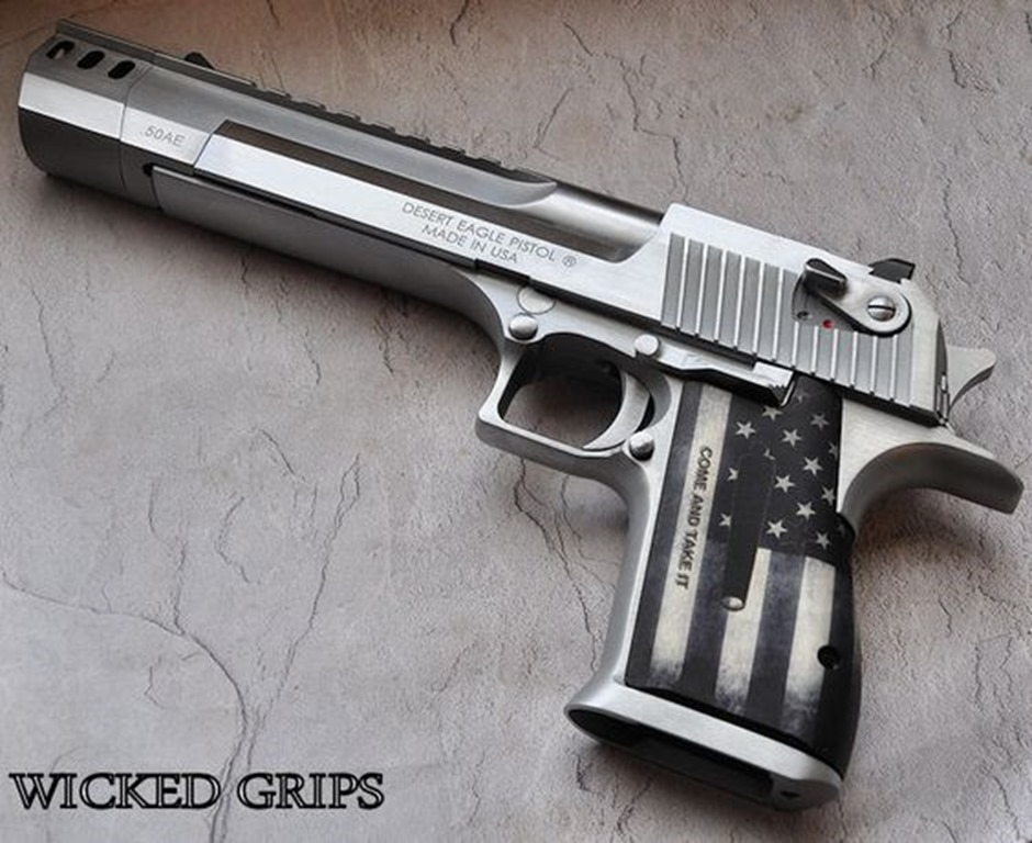 Wicked Grips Come and Take It Desert Eagle