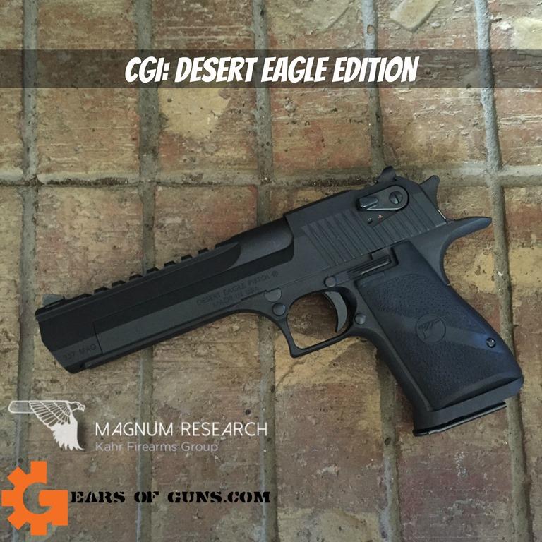 CGI Desert Eagle