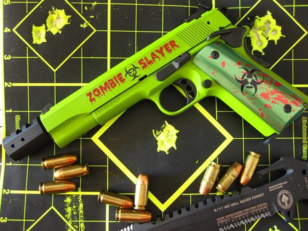Zombie Slayer 1911 Colt