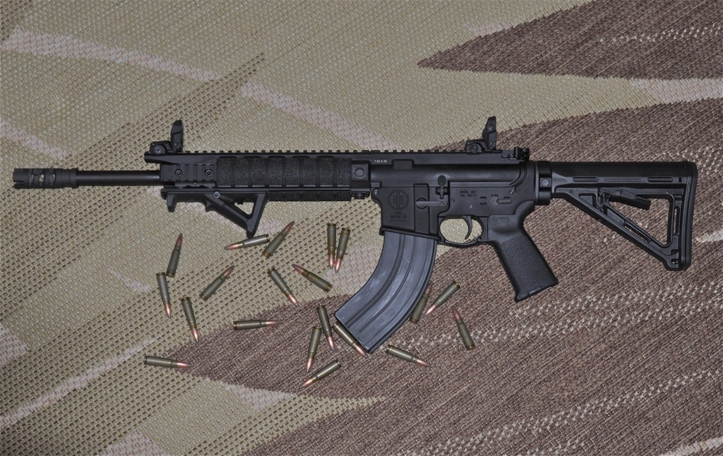 AR with 7.62x39 magazine